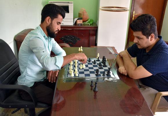افتتاح بطولة الآداب بلعبة الشطرنج للطلبة