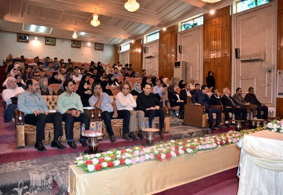 ( الحسين سفينة العراق ) عنوان المهرجان الثقافي السنوي الثامن لقسم اللغة العربية